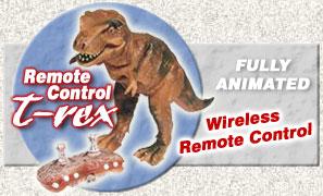 Remote Control Tyrannosaurus rex Dinosaur